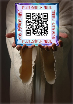 Jesus Carries QR Code